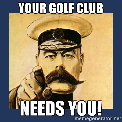 golf club needs you